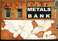 Downtown Deco HO Scale Metals Bank Building Craftsman Kit + Free Bonus Kit!