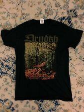 Drudkh shirt Small Black Metal Death Metal Vintage