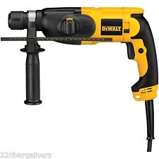 DeWalt NEW D25012K Hammer Drill 220 Volts (FOR OVERSEAS ONLY) Asian/Euro Plug