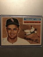 1956 Topps #118 Nellie Fox Chicago White Sox Baseball Card Ex/Mt
