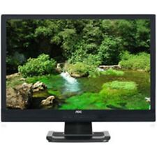 "AOC 24"" LCD monitor 416Va LCD Monitor HDMI, VGA and DVI-D Cables included"