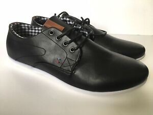 Mens Faux Leather Trainers Shoes. UK 11. Lace Up. Driving Shoe. Comfortable BNIB