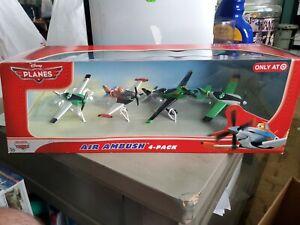 Disney Planes PACKAGE PRINTING ERROR! RARE! VINTAGE! Air Ambush. 4 Pack Target
