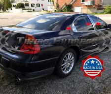 fit:1999-2004 Chrysler 300M 6Pc Pillar Post Trim Stainless Steel Door Cover