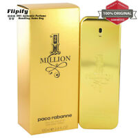 1 Million Cologne 1.7 oz / .17 oz / 6.7 oz / 3.4 oz EDT for MEN by Paco Rabanne