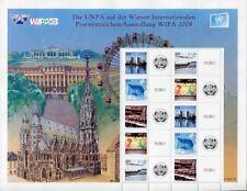 UNO Wien 2008 WIPA Grussmarken 550-554 Kleinbogen Postfrisch MNH
