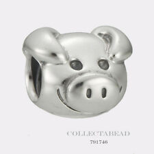 Authentic Pandora Sterling Silver Playful Pig Bead 791746 *LAST ONE