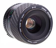 Nikon F Sigma Macro 50 mm f 2,8 MC AIS / SN:1000268 /  Top Zustand / Macro 1:1