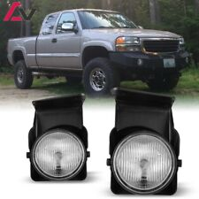 03-06 For GMC Sierra Clear Lens Pair Bumper Fog Light Lamp OE Replacement DOT
