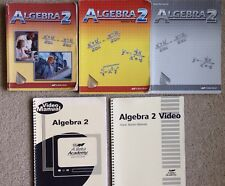 ABeka Algebra 2 Homeschool 5pc Set, Text, Solution Key, Test/Quiz Key