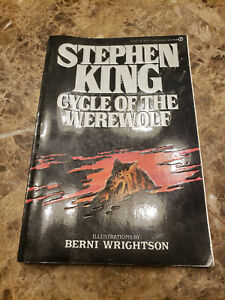Cycle of the Werewolf by Stephen King 1985 True First Edition 1st Printing