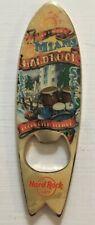 Hard Rock Cafe Miami Drum Kit Series Bottle Opener Magnet Surf Board