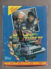 1989 Topps Back to the Future II Full Box 36 Packs