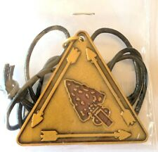 Order of the Arrow OA Vigil Pendant (I Too Have Kept the Vigil engraved on back)