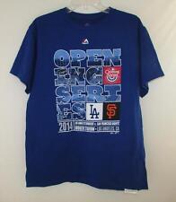 LA Dodgers San Fran Giants 2014 Opening Series Shirt ~ Size MEN'S MEDIUM NWT