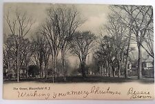 1905 UDB Postcard Bloomfield, New Jersey NJ The Green Postally Used