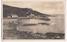 Jersey; Rozel Bay RP PPC, 1935 Local PMk to Reynolds, Tuckton Rd, Bournemouth