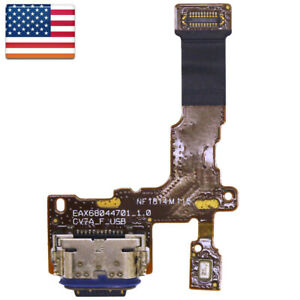 Connector USB Charger Charging Port Flex Cable + Mic For LG Stylo 4 Q710