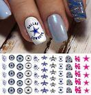 Dallas Cowboys Football Nail Art Decals - Salon Quality!