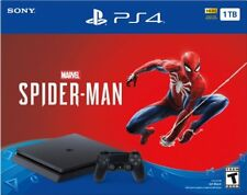 Sony PS4 PlayStation 4 1TB Marvel's Spider-Man Video Game Console Bundle - Black