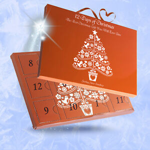 Advent Calendar Jewellery Charm Bracelet Necklace Earrings 12 or 24 days Xmas