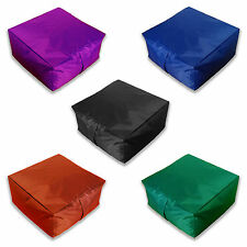Garden Bean Bag Waterproof Slab Beanbag Outdoor Gaming Cushions COVER ONLY