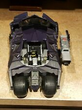 "DC Batman Dark Knight Assault Tumbler Batmobile 13"" Vehicle H1387 Batman Figure"