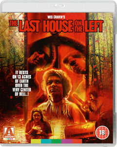 The Last House On The Left - Arrow Video (Blu-ray) *Brand New**Sealed*