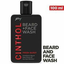 Cinthol Fresh Burst (Beard + Facewash) Icy Cool Menthol 100ml+ Free Shipping