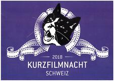 KURZFILMNACHT SCHWEIZ 2018 - ANSICHTSKARTE