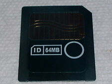 SD 64MB SANDISK SMARTMEDIA CARD SANDISK SDSM-64 SAN DISK SMART MEDIA MEMORY CARD