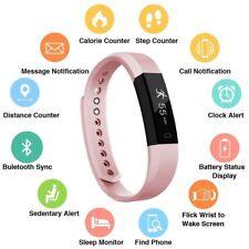 Smart Bluetooth Fitness Activity Tracker Sports Watch Pedometer Wristband Strap