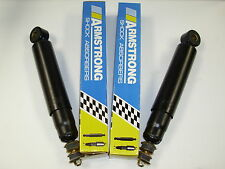 "LAND ROVER DEFENDER 90 REAR SHOCK ABSORBERS ""OEM ARMSTRONG"" PAIR - 84 TO 99"