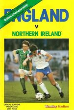 England v Northern Ireland - British Championship - 1984