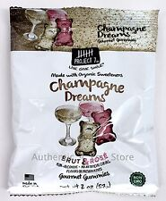 Project 7 Champagne Dreams Brut & Rose Gourmet Gummies 2oz/57g Bag - Gummy Bears