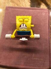 """2012 McDonalds SPONGEBOB SQUAREPANTS -SPONGEBOB WEIGHTLIFTER 3.25"""" Figure Toy #5"""