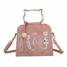 Cats Messenger Bags Crossbody And Shoulder Tote Fashionable Handbags For Women
