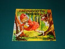 Collana Fantasia N. 1 - CAPPUCCETTO ROSSO - Ed. Boschi ECCELLENTE