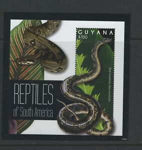 Guyana #4106 (2012 Snake sheet) VFMNH CV $7.00