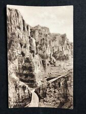 Vintage Real Photo Postcard #TP1538: Cheddar View In The Pass