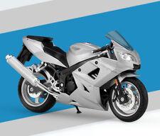 1:18 Welly Triumph Daytona 600 Motorcycle Bike Model Silver