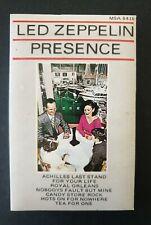 LED ZEPPELIN - 'Presence' 1976 Cassette Tape Album
