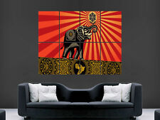 OBEY ELEPHANTS SHEPARD FAIREY INCASE POSTER ART PICTURE PRINT LARGE  HUGE