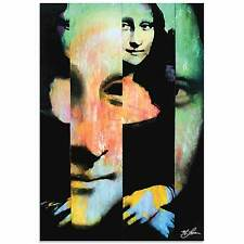 Pop Art 'Mona Lisa Noble Purity' - Ltd. Ed. Giclee on Metal