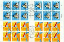 CANI SAN BERNARDO - ST. BERNARD DOGS - SWITZERLAND 2001 booklets self-adhesive