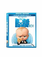 NEW Boss Baby 3D [3D Blu-Ray + Blu-Ray + UV Digital Copy] (2017) (Blu-ray)