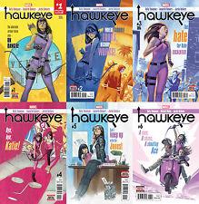 Hawkeye (2016-2017) 1-6