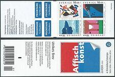 2003 SVEZIA LIBRETTO EUROPA ARTE DEL MANIFESTO MNH ** - A4