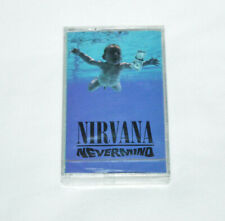 NIRVANA Nevermind CASSETTE TAPE 1991 NEW SEALED Made in Canada DGC Clear Tape