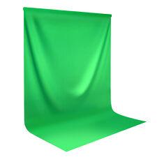 5' x 7' Green Muslin Backdrop Photography Studio Perfect Photo Brand New Us